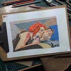 Art Sketches, Art Drawings, Art Folder, Guache, People Art, Aesthetic Art, Art Sketchbook, Art Inspo, Creative Art