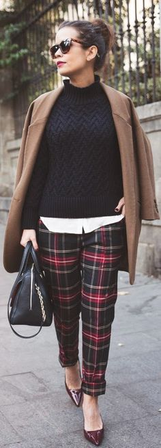 Groove Girl: 13 Ways to Rock Plaid