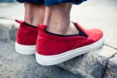 Adam Kimmel 2012 Spring/Summer Slip-On Sneakers: The latest Adam Kimmel Spring/Summer 2012 presents a new all-suede Slip-On Sneaker. Vans Classic Slip On, Slip On Sneakers, Hypebeast, Spring Summer, Footwear, Shoes, Fashion, Moda, Zapatos