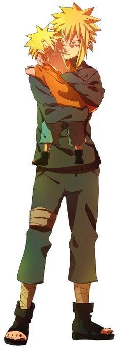 Naruto && Minato❤