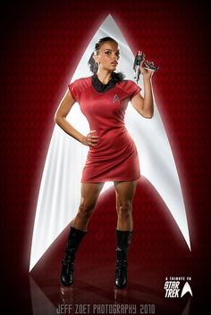 Jessica - Star Treks Uhura | Flickr - Photo Sharing!