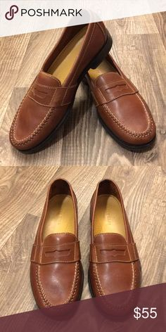 Cole Haan Loafers - Brown Brown loafers from Cole Haan. Size 9.5, medium. Ships fast! Cole Haan Shoes Loafers & Slip-Ons