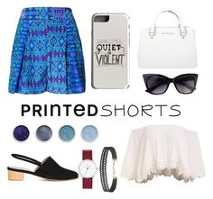 """Hot Summer Days"" by nineties-wallflower ❤ liked on Polyvore featuring Matthew Williamson, Anne Thomas, Michael Kors, Samsung, Terre Mère and Humble Chic"