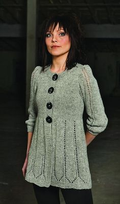 Ravelry: Gray sweater pattern by Sára Mrdalo