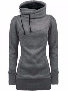 Gross Weight/Package: 0.65 ( kg ) Model: Slim Type: Pullover Material: Cotton Blends Combination Type: Single Length: Mid-Length Sleeve Length: Long Sleeve Neckline: Stand Collar Pattern: Plain Style: