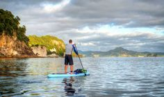 An early morning paddle at Hahei Beach, Coromandel.  It's been too long since we were last on the water!