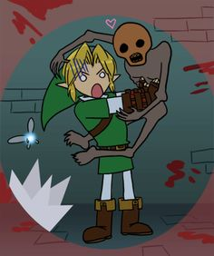Love about Zelda / Effroi (click for animated GIF version!
