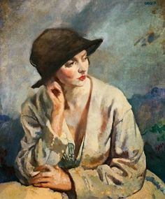 untitled painting by William Orpen (1878-1931), Irish (touchofcolorr)