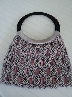 Макраме сумки (из интернета)