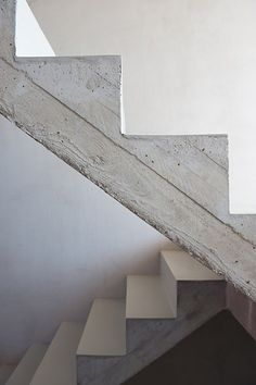 Concrete stair - timber formwork detailing