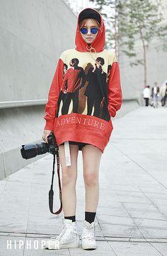 홍하리 > Street Fashion   힙합퍼