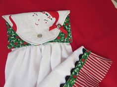 A personal favorite from my Etsy shop https://www.etsy.com/listing/475142832/glitzy-santa-pleated-christmas-hanging
