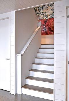 Long Beach House | Oliver Freundlich Design stair detail