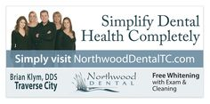 Northwood Cosmetic Dental Group portfolio at The Peripheral Vision. City Clean, Dental Group, Dental Design, Peripheral Vision, Dental Cosmetics, Dental Health, Billboard, Whitening, Oral Health