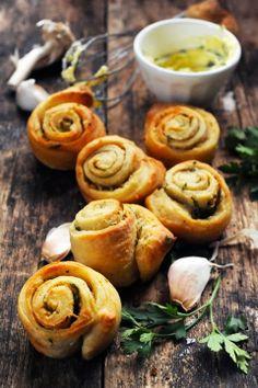 Escargots au beurre d'ail sans escargots pour l'apéro … encore une drôle…