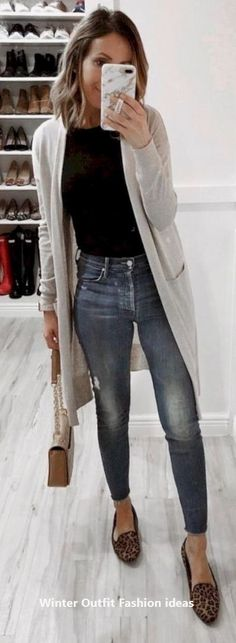 Most stylish fall outfits women - Fashion ❤ Mode - Mode Outfits, Trendy Outfits, Fashion Outfits, Trendy Shoes, Simple Outfits, Cute Spring Outfits, Fall Winter Outfits, Winter Wear, Spring Dresses