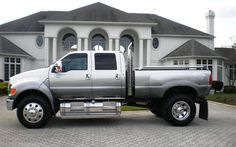Ghost Ford F650 Ford Work Trucks, Jacked Up Trucks, Diesel Trucks, Semi Trucks, Big Trucks, F650 Trucks, Pickup Trucks, Ford F650, Sport Truck