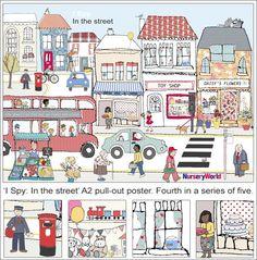 I Spy: In the street poster