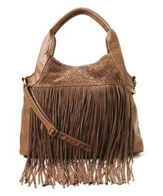 Look what I found on #zulily! T-Shirt & Jeans Mushroom Fringe Tote by T-Shirt & Jeans #zulilyfinds
