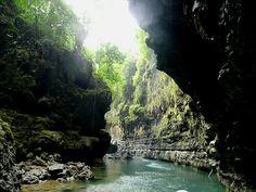 Beautiful Place Green Canyon Pangandaran Indonesia Pinterest