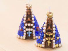 Arte Brasil | Velas Decorativas - Nossa Senhora Aparecida - Viviane Bastos