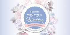 Win Your Dream Wedding  Worth Up To £40,000