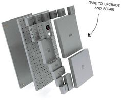 The smartphone which is made of blocks. It permits to customize you phone; you can repair it easily replacing only the faulty block; you can update it quickly and cheaper. The smartphone of the Future. Journal Du Geek, Gadget Magazine, Buy Electronics, Lego Modular, Samsung, Hardware, Cool Technology, Consumer Technology, Digital Marketing Strategy