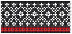 Knitting Charts, Baby Knitting Patterns, Knitting Socks, Knitting Stitches, Cross Stitch Pattern Maker, Cross Stitch Patterns, Tejido Fair Isle, Diy Crafts Knitting, Fair Isle Pattern