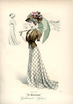 Fashion Plate - De Gracieuse, 1908