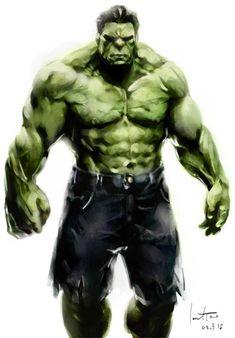 #Hulk #Fan #Art. (Hulk) By: Jarodtao. (THE * 5 * STÅR * ÅWARD * OF: * AW YEAH, IT'S MAJOR ÅWESOMENESS!!!™)[THANK Ü 4 PINNING<·><]<©>