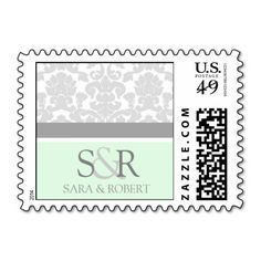 @@@Karri Best price          	Grey Mint Damask Monogram Wedding Stamps           	Grey Mint Damask Monogram Wedding Stamps Yes I can say you are on right site we just collected best shopping store that haveThis Deals          	Grey Mint Damask Monogram Wedding Stamps please follow the link to see fu...Cleck Hot Deals >>> http://www.zazzle.com/grey_mint_damask_monogram_wedding_stamps-172976328306935350?rf=238627982471231924&zbar=1&tc=terrest