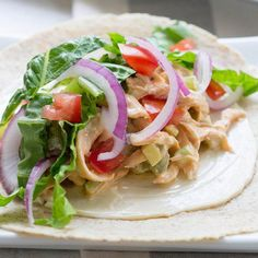 These easy-to-make Spicy Buffalo Chicken Wraps will be a new fave in your home! All the flavor and spices of hot wings in a light and easy to eat wrap! Enjoy 2 wraps for only 335 calories.