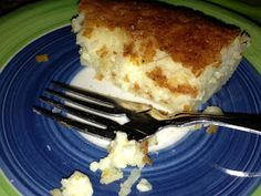 I Like to Bake and Cook!: Impossible Coconut Custard Pie! Delish!!