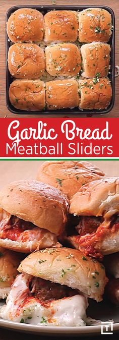 No game day appetizer spread is complete without garlic bread and meatball sliders. But why go through all the trouble to prepare both separately, when you could use this killer recipe from Twisted that combines them both in one cheese-obsessed, herbaceous bite? From the unfussy preparation to the robust flavor in each one, these sliders are the crowd-pleaser of Sunday snacks. Go forth and score a culinary touchdown.