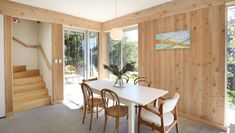 Grand Designs NZ: Going green on a Wellington cliff edge | Stuff.co.nz The Scaffold, Cliff Edge, Grand Designs, Go Green, Home Decor Inspiration, Furniture Decor, Dining Bench, Fencing, House