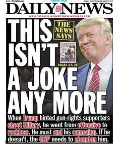 Por Frank PallottaEn un editorial el Daily News le pidió a Donald Trump que…