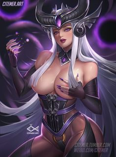 SYNDRA, LRY CiteMER on ArtStation at https://www.artstation.com/artwork/wNoWV
