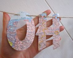 Traveling From Miss To Mrs Banner Made from Maps by MagpieandMax
