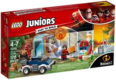 LEGO Juniors The Great Home Escape 2018 for sale online Lego Juniors, Power Rangers, Lego Junior Sets, Incredible Kids, Lego Marvel's Avengers, Avengers Birthday, Indoor Waterfall, Creative Box, Lego Dc