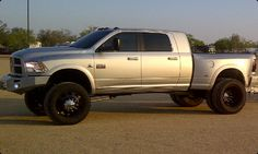 wheels for a dodge mega cab | Aztec dually wheels. Like American Force or Evil Twin with like new ...