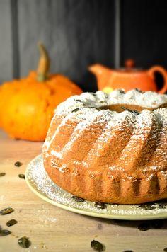 pumpkin oil cake - foodaffair Pumpkin Oil, Oil Cake, Home Food, Vanilla Cake, Favorite Recipes, Breakfast, Desserts, Blog, Morning Coffee