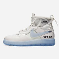 """New Drop Fall Nike Air Force 1 High Gore-Tex (Duck Boot) Latest addition to the Series"""", set to drop this Fall, the Gore-Tex Latest Sneakers, Sneakers Fashion, Sneakers Nike, Nike Air Force 1, Air Force 1 High, Jordan 1, Gore Tex Boots, Swag Shoes, Hype Shoes"""