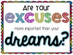 Freebie Inspirational Quote - Teachable Moments blog. Hang up while writing goals for 7th grade essay