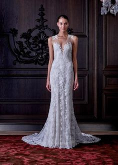The Breathtaking Spring 2016 Wedding Dresses From Bridal Fashion Week - Spring 2016 from #InStyle Monique Lhuillier