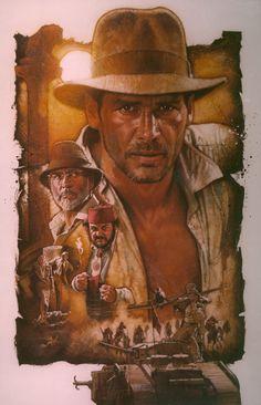 Drew Struzan, Indiana Jones and the Last Crusade