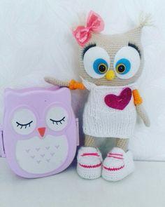 Cute owl - free amigurumi pattern