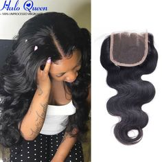 Top Lace Closure Brazilian Virgin Hair Closure Brazilian Body Wave 4x4 Lace Closure Bleached Knots Closures