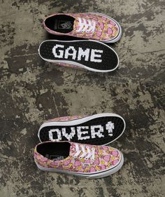 Vans Nintendo Authentic Princess Peach Sneakers