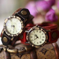 New Vintage Roman Numberal Marks Bracelet Watch