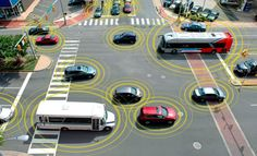 the US national transportation safety board has just called for all cars, trucks, and buses to come equipped with V2V communication systems that let cars 'talk' to one another and their environment. research suggests that V2V (vehicle-to-vehicle) and its partner V2I (vehicle-to-infrastructure) communications could address up to 82 percent of automobile crashes, as well as reduce CO2 emissions by helping travelers make informed decisions to avoid congested routes.